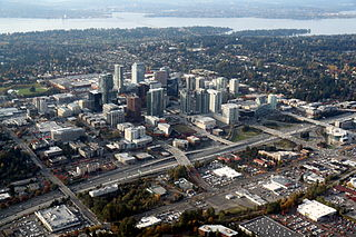Aerial view of Belleview Washington