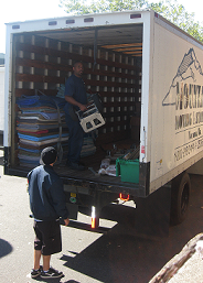 Mountain Moving crew at work