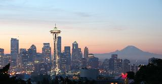 View of the Seattle Space Needle