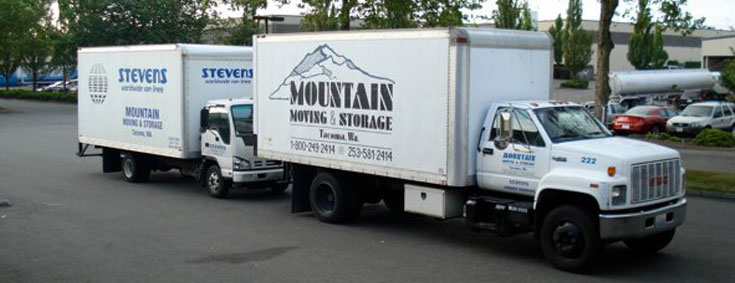 Seattle And Tacoma Moving Trucks